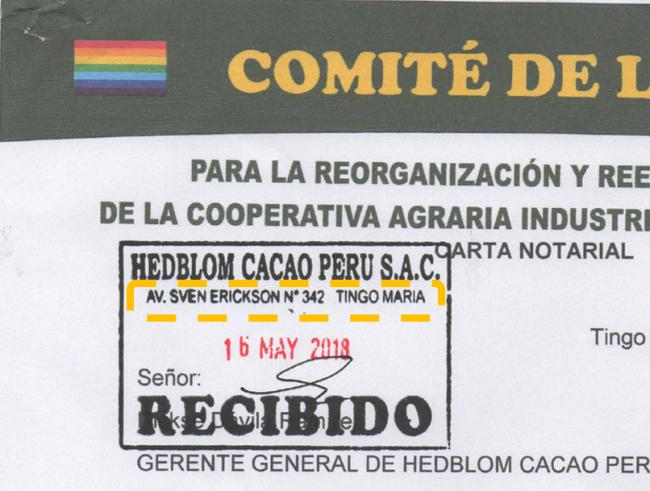 Dirección HCP